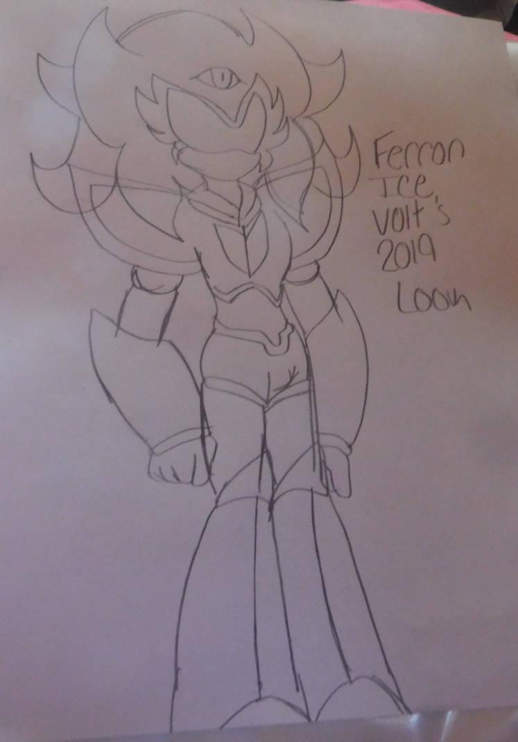 Ferron's New Look by AlphaBeastSigma