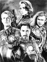 Avengers by bloofeesh