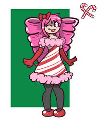 Christmas Com: Candy Cane by TranzmuteProductions