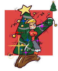 Christmas Com: Tree by TranzmuteProductions