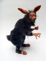 Scary-ass Macabre Rabbit by AnyaBoz