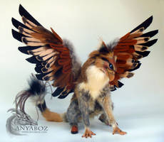 Trygo the Gryphon Room Guardian by AnyaBoz