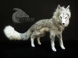 Ice Fox Room Guardian by AnyaBoz