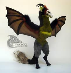 Zaku the Dragon Room Guardian by AnyaBoz