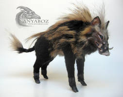 Wild Boar Room Guardian by AnyaBoz