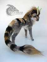 Fantasy Feline Room Guardian by AnyaBoz