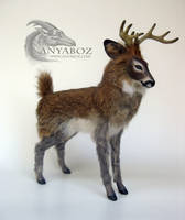 Henson the Deer Room Guardian by AnyaBoz