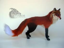 Lee the Fox Room Guardian by AnyaBoz