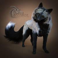 Silver Fox Room Guardian by AnyaBoz
