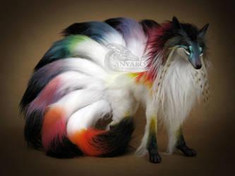 Spectrum Kitsune Room Guardian by AnyaBoz