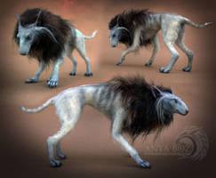 Aaron the Werewolf Room Guardian by AnyaBoz