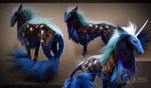 Stardust Unicorn Room Guardian by AnyaBoz