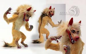 Mawma the Werewolf Room Guardian by AnyaBoz