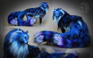 Blue Nekomata Room Guardian by AnyaBoz