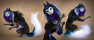 Twilight Gryphinx Room Guardian by AnyaBoz