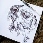 Owlman by AnyaBoz