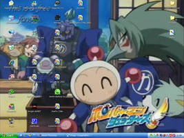 Desktop again xD by Shini-Smurf