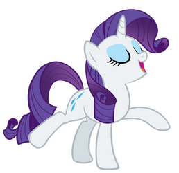Rarity - I haz a wiggly by Orschmann