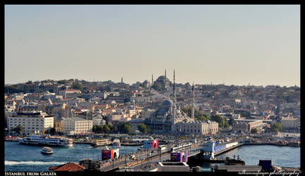 Istanbul from Galata II by BeYounique