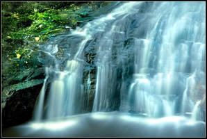 Hareshaw Linn Waterfall 3 by newcastlemale