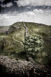 Roman Wall by newcastlemale