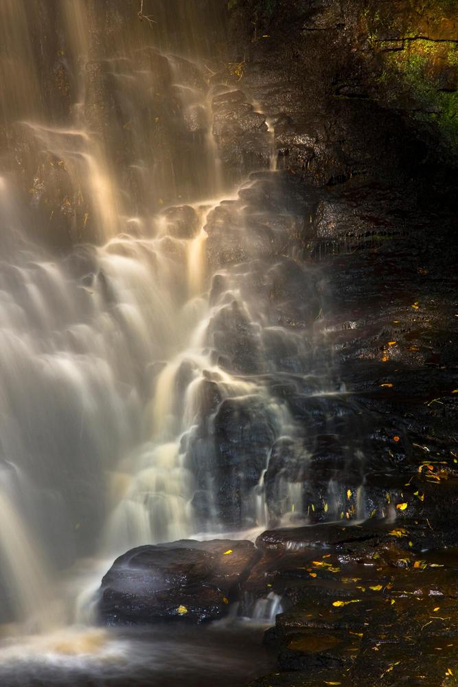 Hareshaw Linn Waterfall 7 by newcastlemale