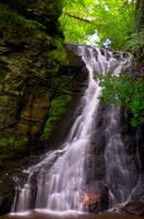 Hareshaw Linn Waterfall  6 by newcastlemale