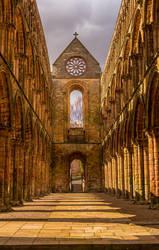 Jedburgh Abbey 2 by newcastlemale