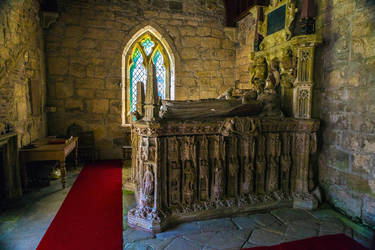 Sir Ralph Grey tomb by newcastlemale