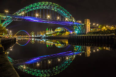 Tyne Reflections by newcastlemale