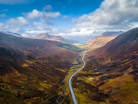 Road to Torridon by newcastlemale