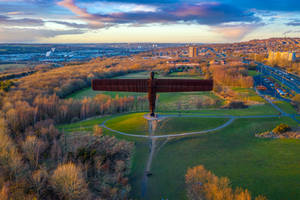 Angel of the North by newcastlemale