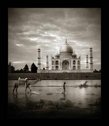 Taj Mahal by tyt2000