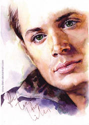 Dean. Watercolor. by LiLen