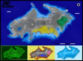 Neo Europa Map by Evilonavich