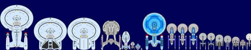 Star Trek Ships by captshade