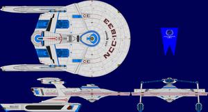 USS Miranda Multi-View by captshade