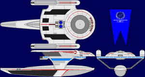 USS Oberth Multi-View by captshade