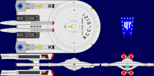 USS Black Orchid Phase II Multi-View by captshade