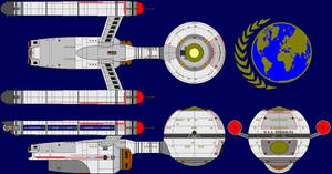 USS Daedalus Ent Multi-View by captshade