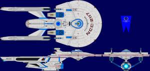 USS Starstalker Multi-View by captshade