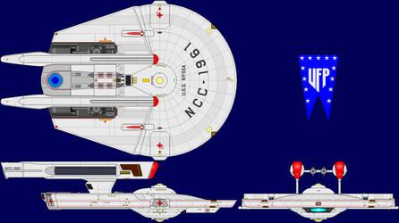 USS Nyssa Phase II Refit by captshade