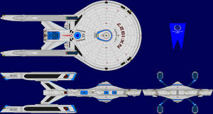 USS Sparta Multi-View by captshade