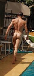 Naked Pool Days 1 by martinjr001