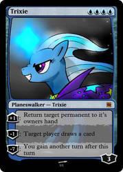 Trixie Planeswalker by RainbowTrixie