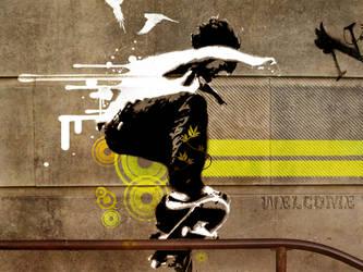 Street Art - Vector by bub6l3s
