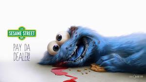 Cookie Monster by fubango