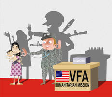 Visiting Forces Agreement by fidelectus