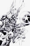 Secret Invasion: INKS by boysicat