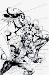 Avengers Variant 2: Leinil Yu by boysicat